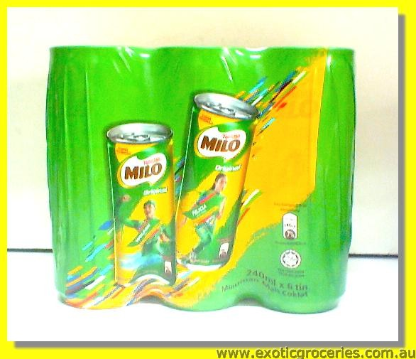 Milo Drink 6cans