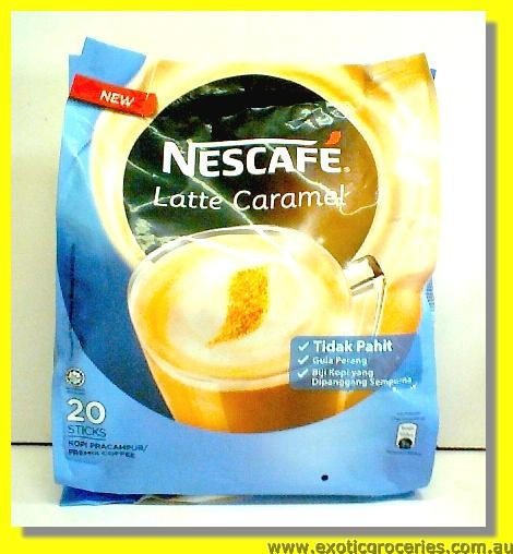 Latte Caramel 20sticks