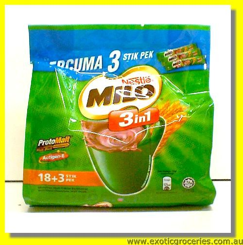 Instant Milo 3in 1 18+3sticks