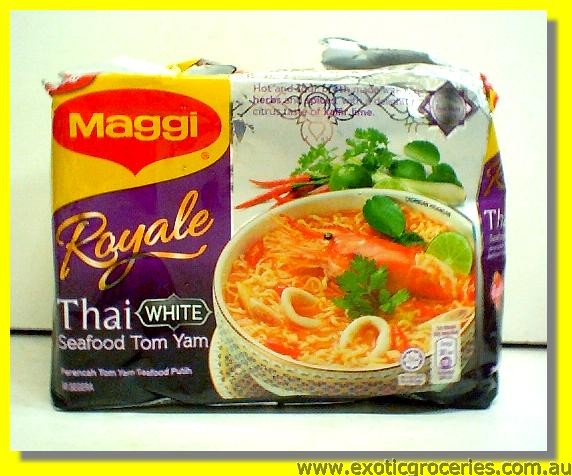 Instant Noodle Thai White Seafood Tom Yam 4pkts