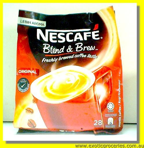 Instant Coffee 3 in 1 Original Flavour 28sticks