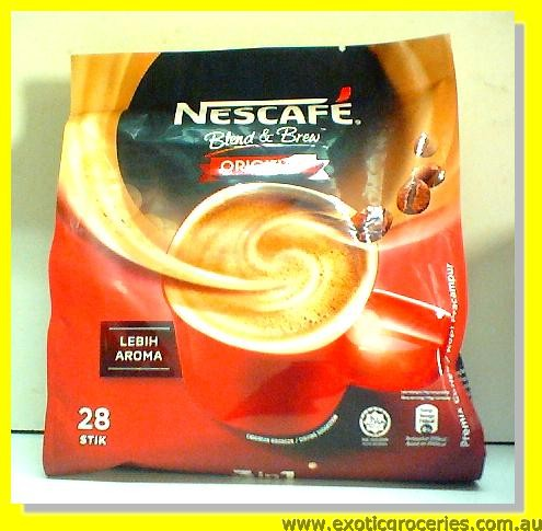 Instant Coffee 3in1 Original 28 sticks