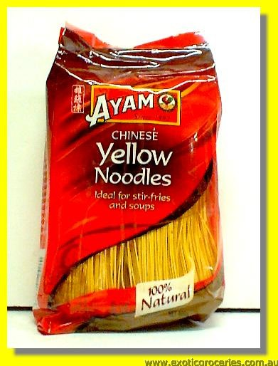 Chinese Yellow Noodles (Ideal for Stir-fries and Soups)
