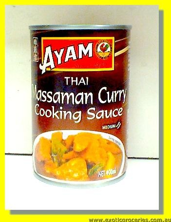 Thai Massaman Curry Cooking Sauce Medium