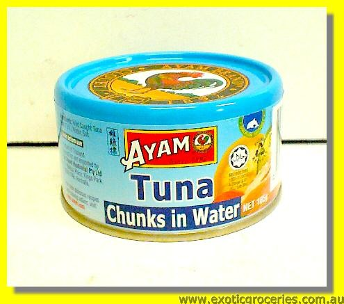 TUNA Chunks in Water