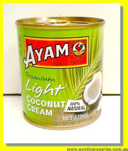 Light Coconut Cream