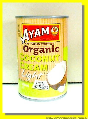 Organic Light Coconut Cream