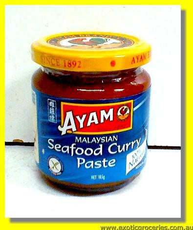 Malaysian Seafood Curry Paste