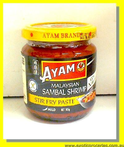 Malaysian Sambal Shrimp Paste