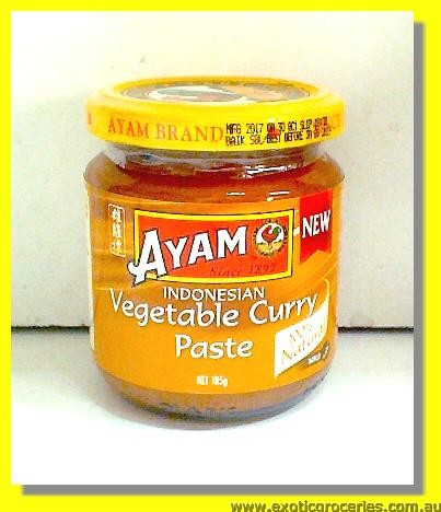 Indonesian Vegetable Curry Paste