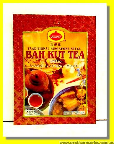 Traditional Singapore Style Bak Kut Tea Spices