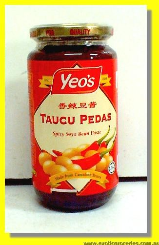 Taucu Pedas Spicy Soya Bean Paste