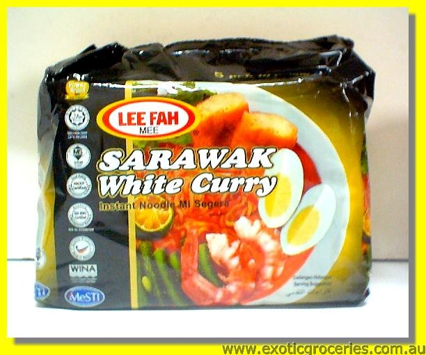 Instant White Curry Noodle 5pkts