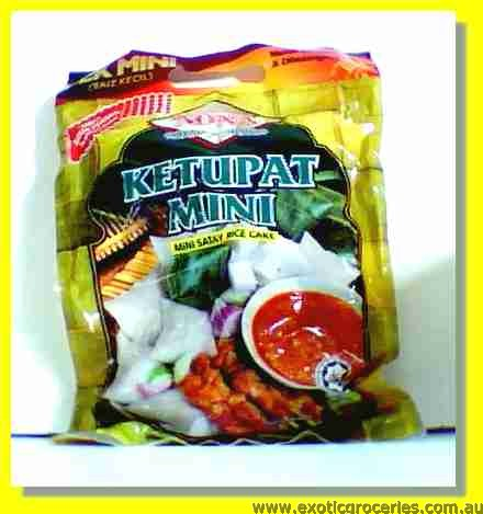 Mini Satay Rice Cake 30packs (Rice Cube)