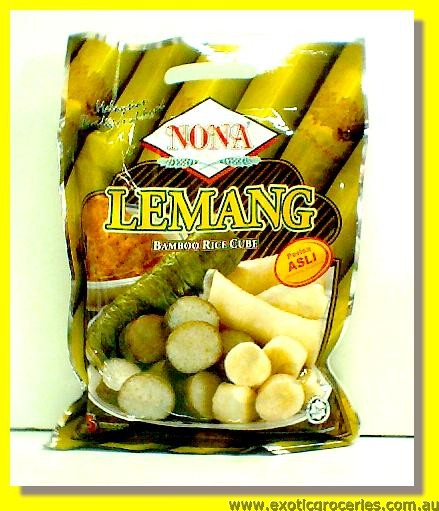Bamboo Rice Cube Lemang Original Flavour 5packs