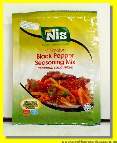 Malaysian Black Pepper Seasoning Mix