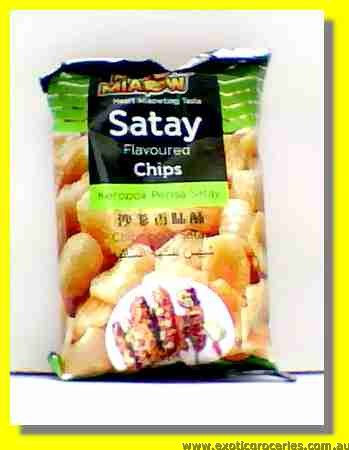 Satay Flavoured Chips