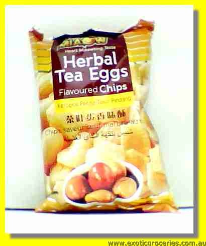 Herbal Tea Eggs Flavoured Chips