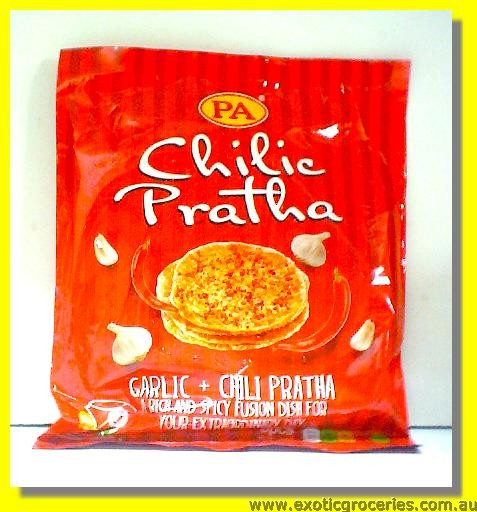 Frozen Chilic Paratha 5pcs (Garlic & Chilli Paratha)
