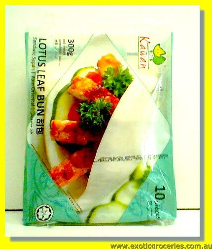 Frozen Lotus Leaf Bun 10pcs