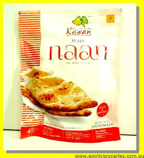 Frozen Naan Plain 4pcs