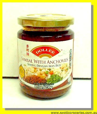 Sambal with Anchovies