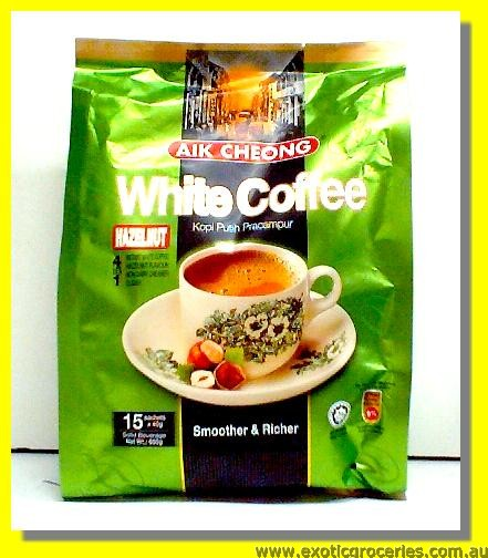 Instant White Coffee 3in1 Hazelnut Flavour 15sachets