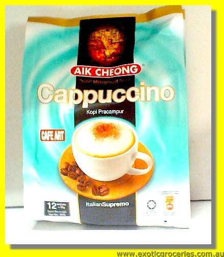 Instant Cappuccino 12 Sachets (Silk & Smooth)