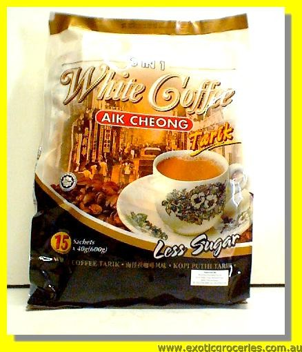White Coffee 3in1 (Less Sugar) 15sachets