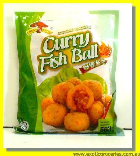 Frozen Curry Fish Ball