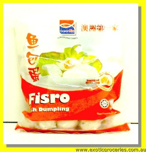 Fisro Fish Dumpling with Fish Roe