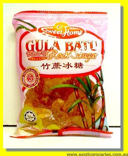 Yellow Rock Sugar (Gula Batu)