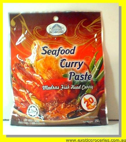 Seafood Curry Paste Madras Fish Head