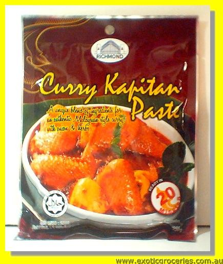 Curry Kapitan Paste