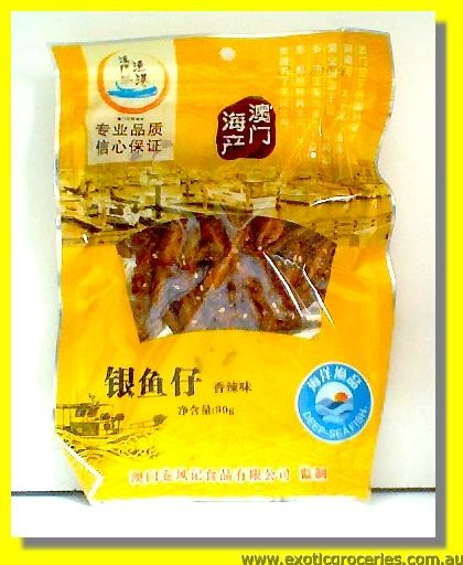 Dried Spicy Silverfish Abredeen (Anchovy)