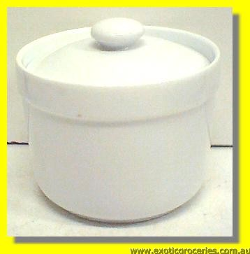 White Clay Jar 10CM KD037(HD417)