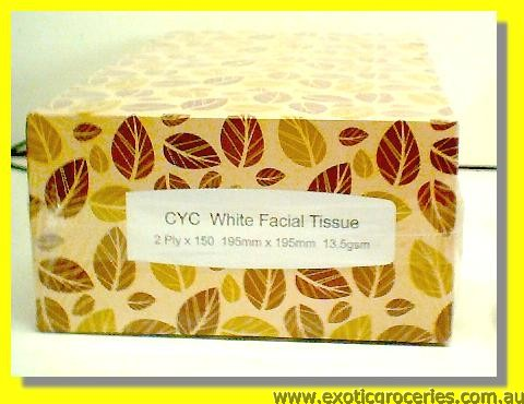 White Facial Tissue 5pcs