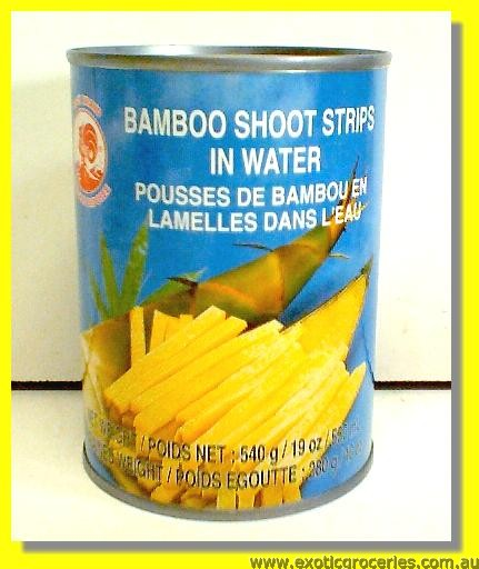 Bamboo Shoots Stripes in Water