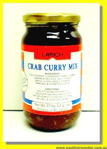 Crab Curry Mix