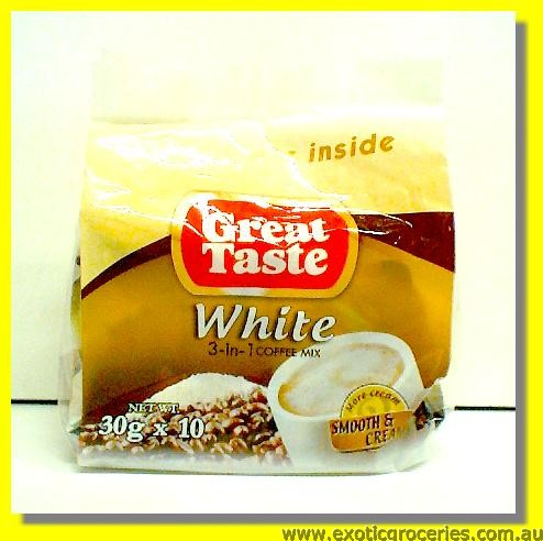 3in1 White Coffee Mix 10sachets