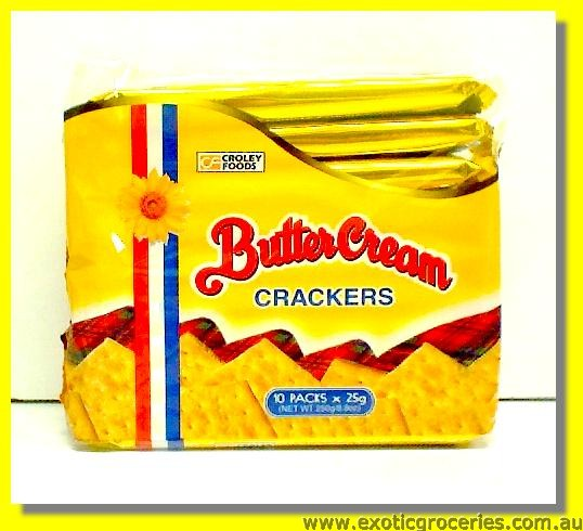 Butter Cream Crackers 10packs