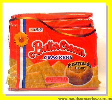 Butter Cream Crackers Ensaymada Flavour 10packs