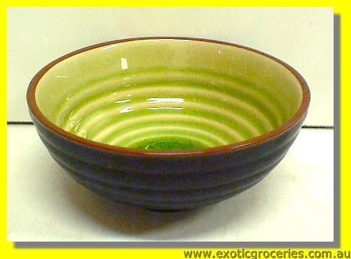 "Japanese Style Bowl (Green) 4.5"" #733"