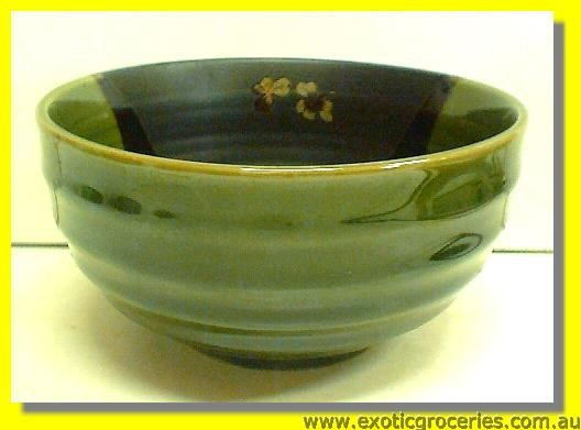Japanese Style Green Bowl 6.5""