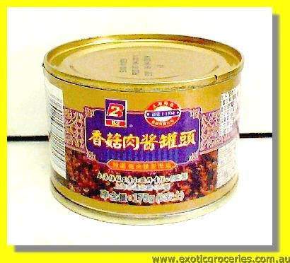 Canned Pork Mince & Mushroom in Bean Paste