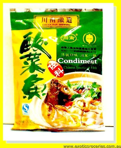 Chinese Sauerkraut Fish Condiment
