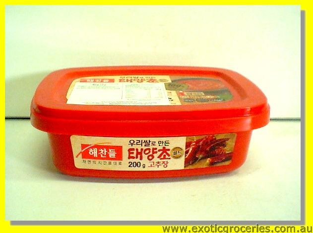 Hot Pepper Paste (Medium Hot Gochujang)