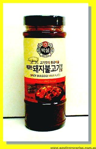 Spicy Bulgogi Marinade