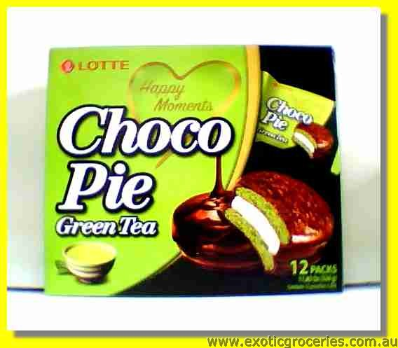 Choco Pie Green Tea Flavour 12packs