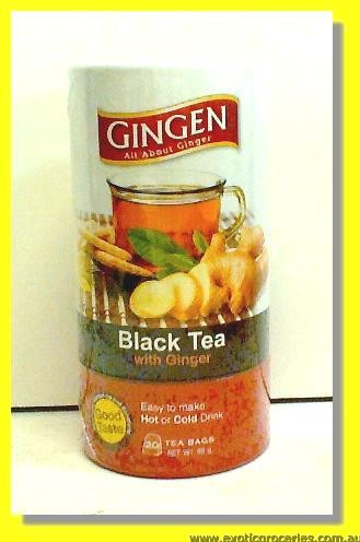 Black Tea with Ginger 20teabags